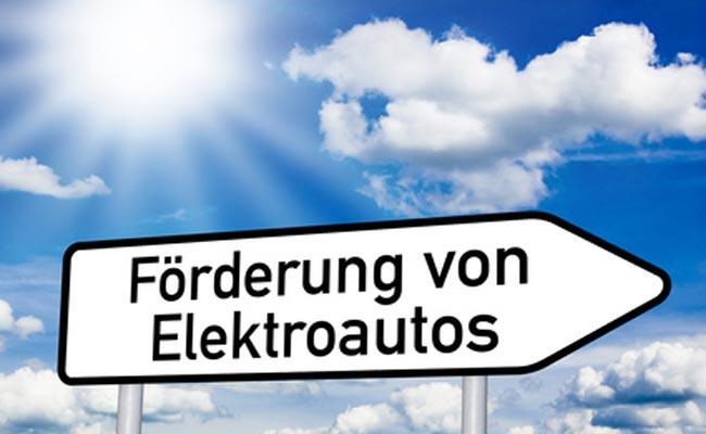 Förderung von Elektroautos