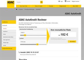 Adac Autokredit Vorteile Nachteile Und Konditionen 012019