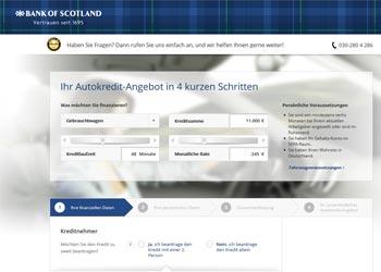 Bank of Sotland Autokredit