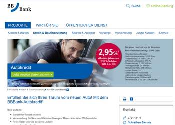 bbbank Autokredit