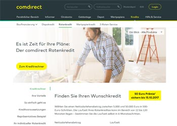 Comdirect Autokredit