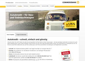 Commerzbank Autokredit