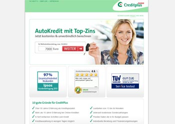 Creditplus Autokredit