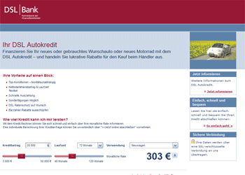 DSL Bank Autokredit