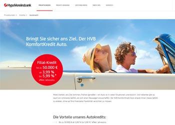 Hypovereinsbank Autokredit