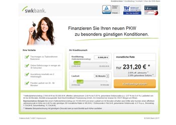 swkbank Autokredit