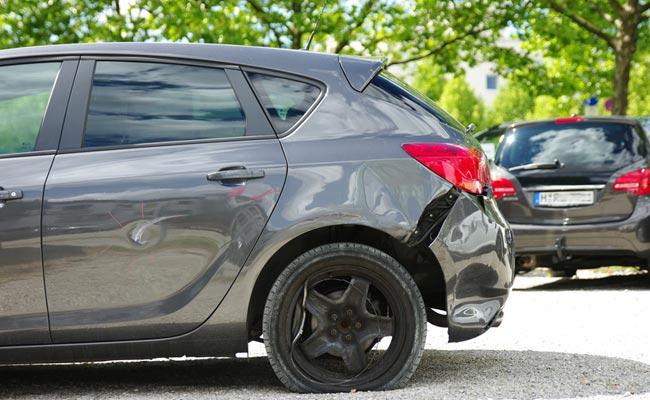 Unfall bei Autokredit